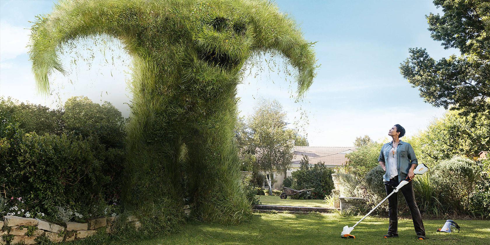 Tenemos una solución para su jardín –y ahora también tenemos una solución para su pantalla!