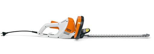 Silencioso y eficiente cortasetos eléctrico.